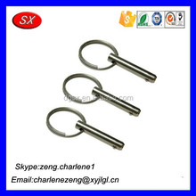OEM hardware manufacturing Zinc plating Cotter Pins , high precision Cotter Pins , Customized Cotter Pins