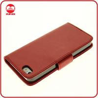 Manufacturer Wholesale Hot Selling Card Holder Magnet Wallet PU Leather Case for iphone5