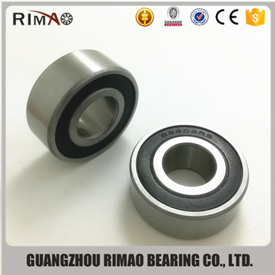 High quality deep groove ball bearing 62211 metal ball bearing big 6221 seal bearing