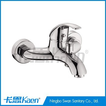 wall mounted single lever bath shower faucet