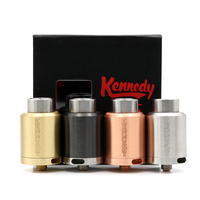 Phimis newest vape rda kennedy 25 rda four color kennedy 25mm clone atomizer huge vapor rda in stock