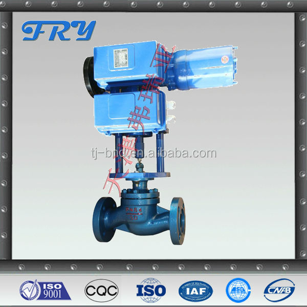 stainless steel material automatic control valve ZAZM/ electric sleeve valve