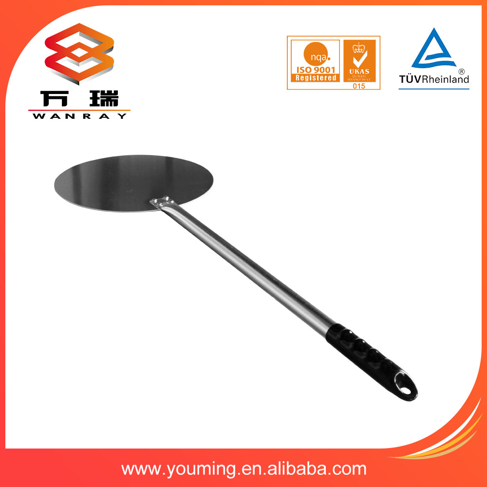 Chinese good round aluminum pizza peel