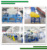 Rigid pp/pe waste plastic products crushing washing drying recycling machine