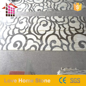 Round waterjet flooring marble medallion floor and wall tiles