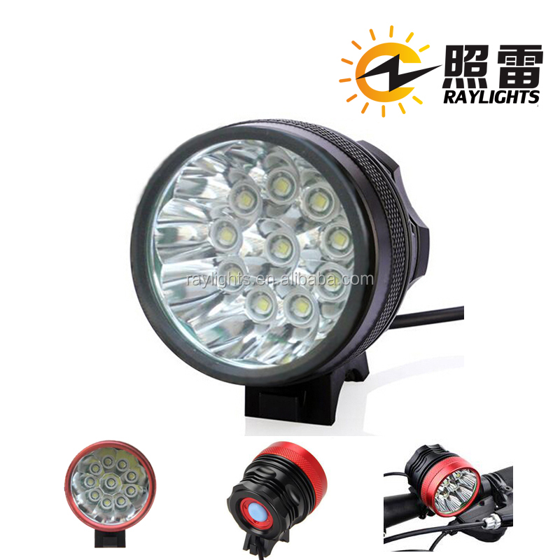 <strong>10</strong> x CREE XML XM-<strong>L</strong> T6 New Design Rechargeable Bicycle Bike Lamps Wide-range Led Bike Light