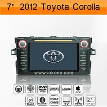 Toyota Corolla 2012 Car Stereos Audio System with GPS