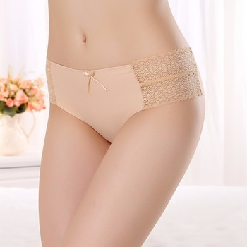 Jinlan Zhudiman Model 7401 Old Women Sex Underwear Sexy Transparent Seamless Panties Underwear Wholesale