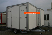 NEW style Mobile toilet trailer