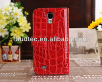 Crocodile Pattern Wallet Leather Case Cover For Samsung Galaxy S4 I9500,New Arrival,Unique Design