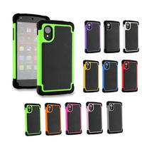 Super Shockproof TPU PC Silicone Waterproof Case For LG Nexus 5
