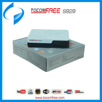 Tocomfree s929 decodificadores satelitales iptv decoder satellite hd for South America