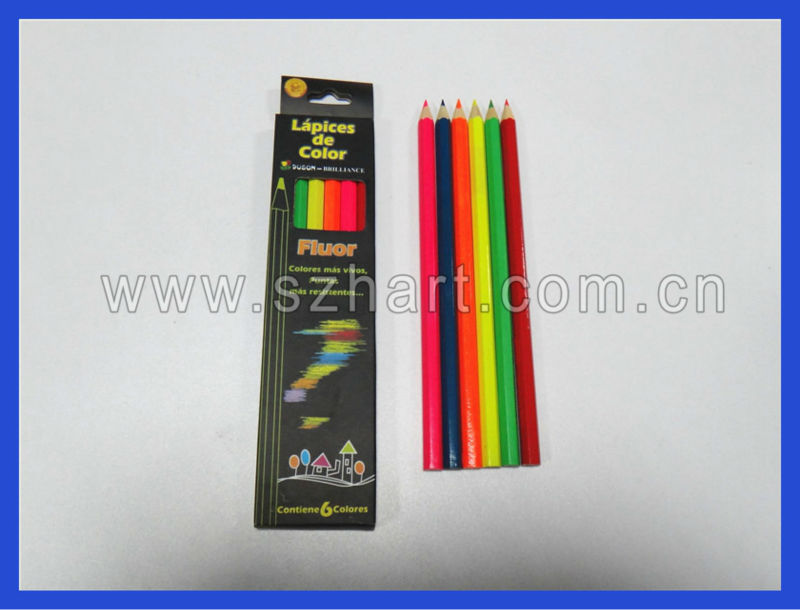 Dia.0.72CM Color pencil, high-end basswood colored pencils