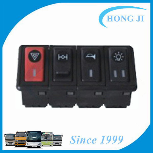 bus rocker switch for air horn button switch and emergency light switch