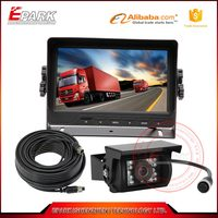 7 inch TFT LCD monitor rear view camera system,truck bus car rear view system
