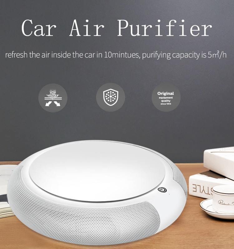 2017 marketing gift items promotion air purifier hepa filter
