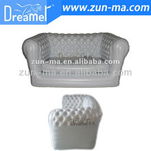 Used Chesterfield Inflatable Sofa, Regal White