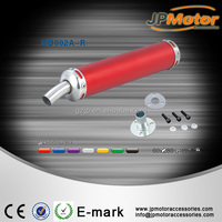 Universal motorcycle street dirt pit bike scooter red color short racing exhaust muffler pipe