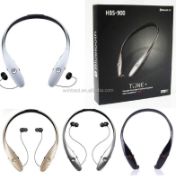 2016 High Quality HBS 900 Bluetooth Headset HBS900 Bluetooth 4.0 Headphone Wireless Stereo Earphone Speaker with CSR Chip