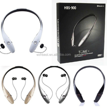 New Products High Quality HBS900 Bluetooth Headset HBS900 Bluetooth 4.0 Headphone Wireless Stereo Earphone Speaker with CSR Chip