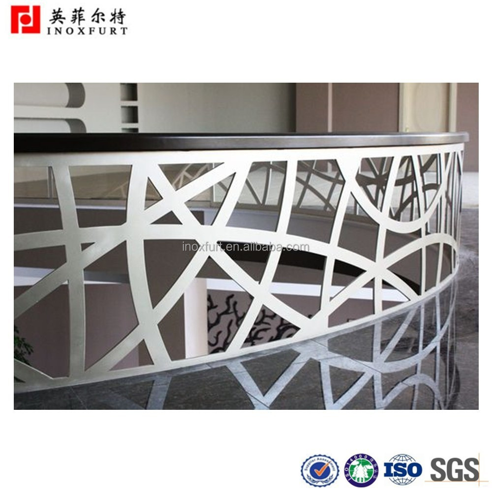 Modern Designs Stainless Steel Stairs and Balcony Railing