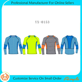 Soft fabric new model t shirts seamless fitness wear bamboo blank dri fit t-shirts wholesale
