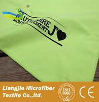 [LJ] Microfiber terry golf towel with bag clip/pack with case suede towel low price