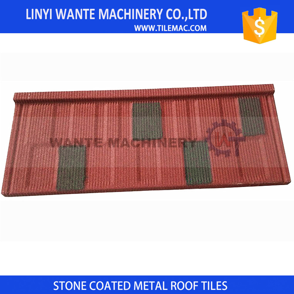 Wante 2.7kg lightweight shingle roof tiles installation for roof