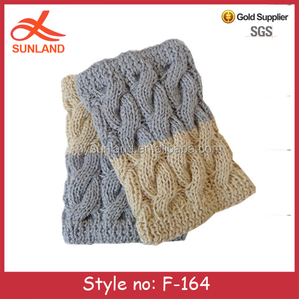 F-164 new winter womens knitted leg warmers