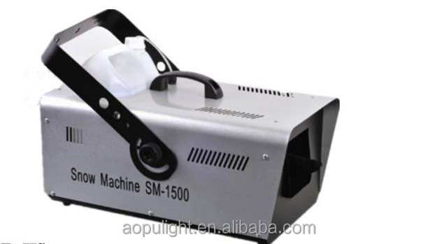 HOT! factory price 1500w snow machine/snow ice machine/snow making machine