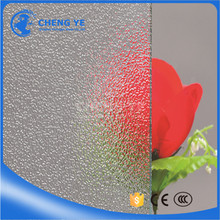 Thick Building Materials Pattern Chinchilla Figured Patterned Glass From Chengye