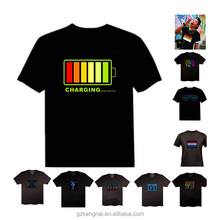 LED T Shirt for Promotional Gift Custom Design