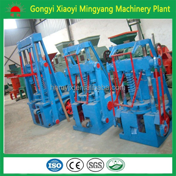 Energy-efficient and reasonable price honeycomb coal briquette molding machine