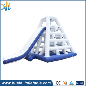 Huale factory price high quality inflatable water park/floating island for water sport games
