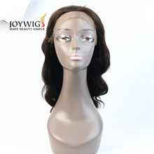 2017 big sales from Qingdao 10A Glueless Indian Human Hair natural color loose wave Full Lace Wig