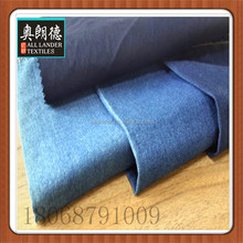 "Hot Sale! 57/58"" Wide 5oz Combed Blue Blue Light Weight Twill 100% Cotton Denim Fabric price CHANGZHOU"