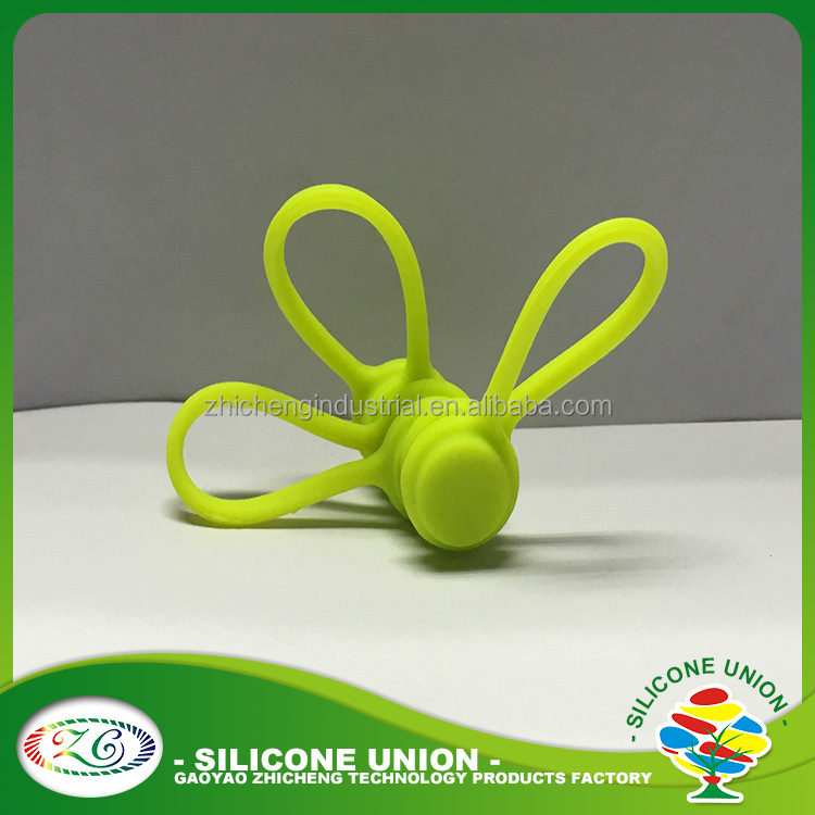 Silicone Magnetic Cable Cord Winder for Headphones