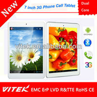 2013 New 7'' Dual Core 3G Phablet PC