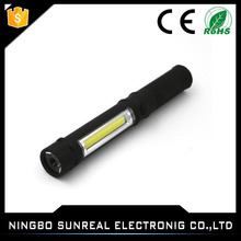 Repair Maintenance Torch Outdoor Waterproof 3W 3 Mode Cob Black Working Portable Light