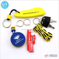 custom Two side colorful popular assorted colors cheap eva keychain