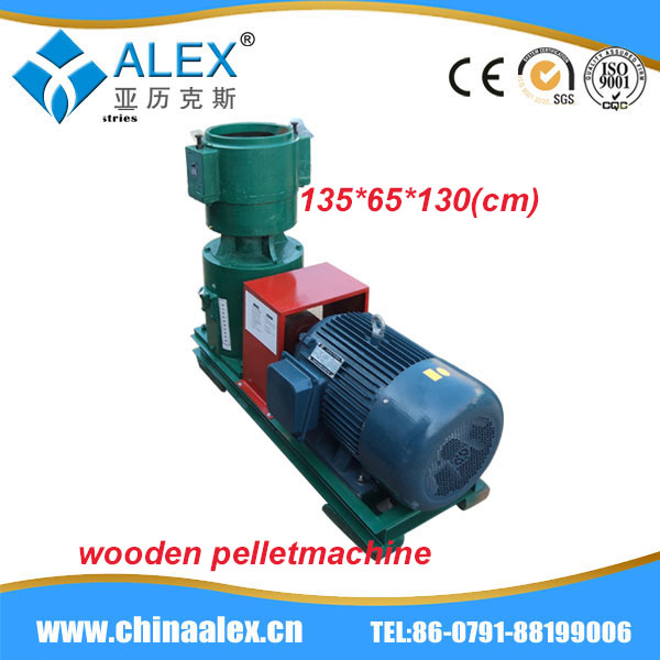 wood charcoal briquette pellet machine corn stalk pellet line with the most competitive price AW-400