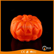 Factory Supply exquisite multicolor led decorative pumpkin candle table candle pumpkin
