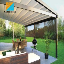 Folding freestanding awning retractable aluminum pergola for sale
