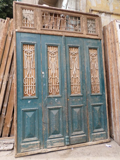 11t Wooden Old Door