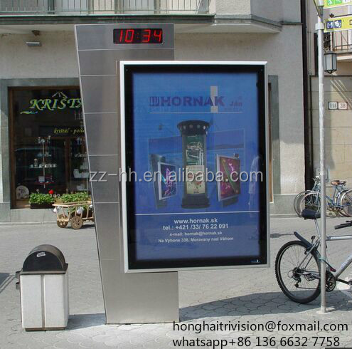 outdoor waterproof advertising model scrolling light box