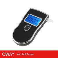 Factory best selling professional police mouthpieces backlight breath alcohol tests
