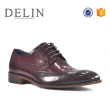 Wholesale latest brand name fashion classic men oxford dress shoes