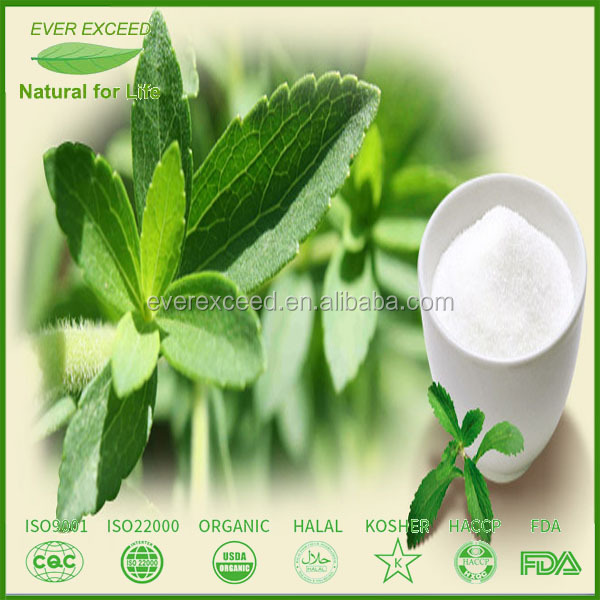 Natural organic stevia sweetener