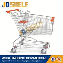 80 liters Asian zinc plated folding shopping carts