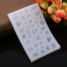 1Pcs Multi-functional Silicone Baking Jewelry Mold Tool for Resin Pendent Handcrafts Making New
